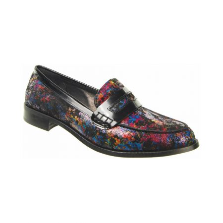 Capollini Frances Multi-Colour Leather Loafers