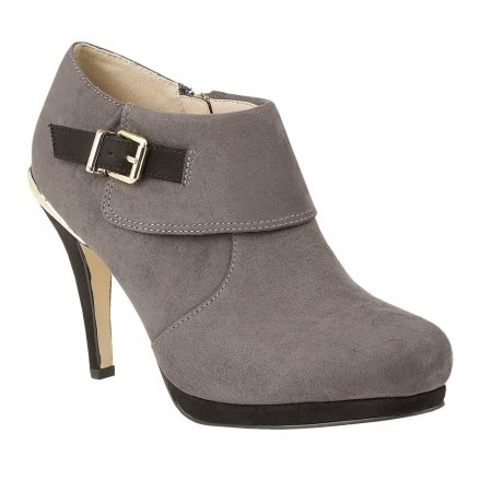 Lotus Vollmer Grey High Heeled Shoe Boots