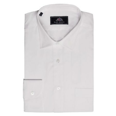 Rael Brook white shirt