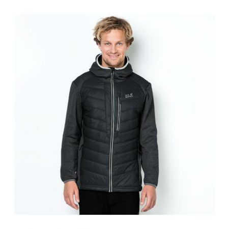 Jack Wolfskin Skyland Crossing Black Wind Jacket