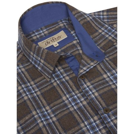 Drifter flannel check shirt 15164/47