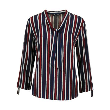 Brandtex Long Sleeved Stripe Blouse
