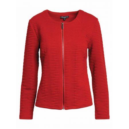 Brandtex Red Avenue Long Sleeved Cardigan