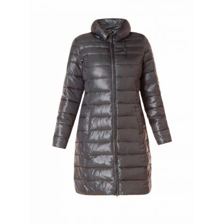 Yest Black Padded Long Length Outerwear