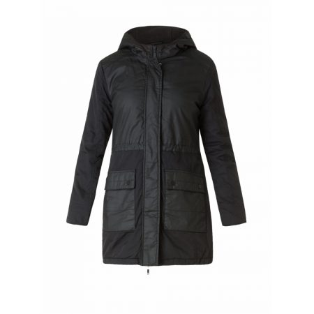Yest Black Panel Casual Outerwear