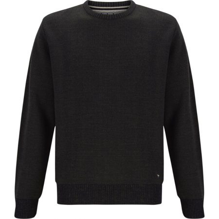 Drifter Green Crew Neck Knitwear Jumper