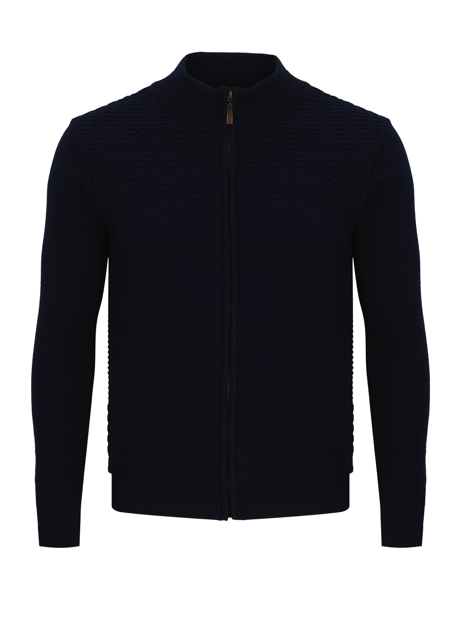 Remus Uomo navy full zip sweater 58300/78