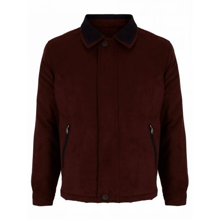 Wellington Newbury Burgundy Casual Jacket