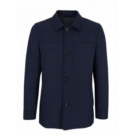 Daniel Grahame Blue Danson Tailored Coat