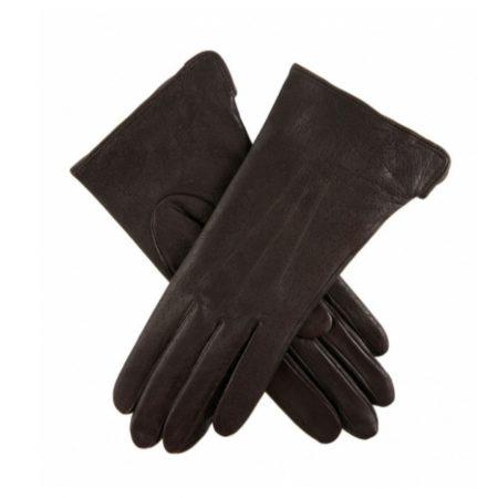 Dents Jessica Mocha Classic Leather Gloves