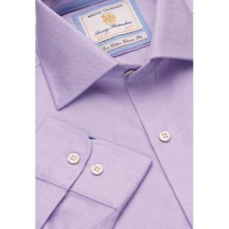 Brook Taverner Lilac Long Sleeve Shirt