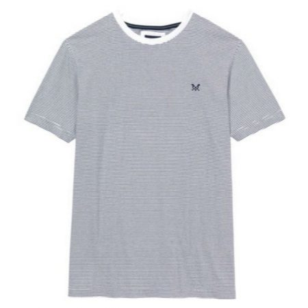 Crew Clothing Striped T Shirt