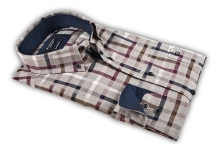 Giordano Grey check shirt