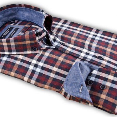Giordano check shirt