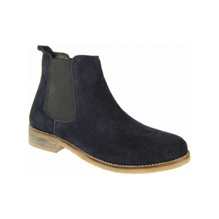 Adesso Jodie Navy Suede Ankle Boots