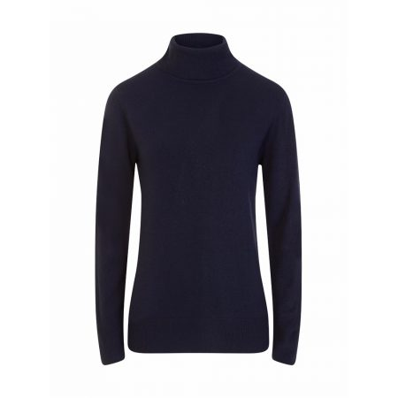Emreco Maple Polo Neck Knitwear Ink