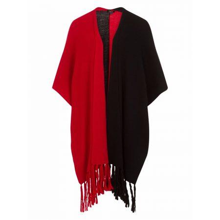 Emreco Naya Black Red Block Colour Wrap