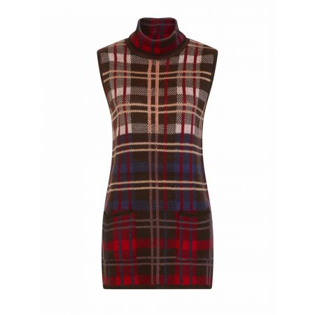 Emreco Oban Tartan Bothy Sleeveless Knitwear