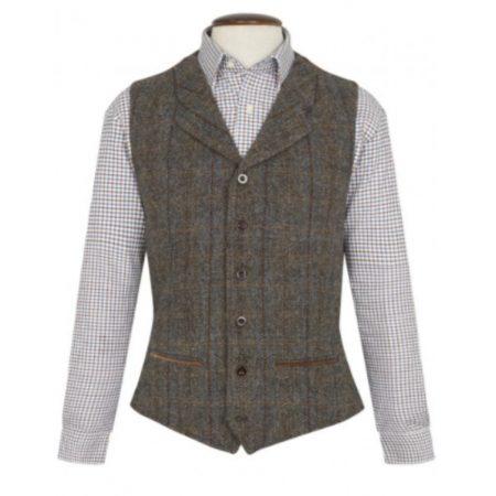 Brook Taverner Sumburgh Harris Tweed Waistcoat