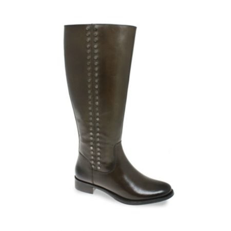 Lunar Arden Brown Leather Knee High Boots