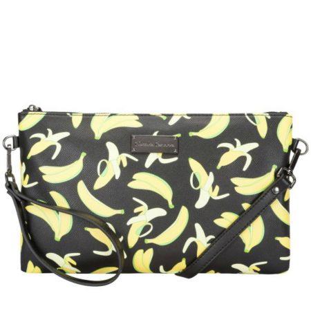 Claudia Canova Banana Print Bag