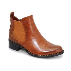 Lunar Bowey Chestnut Tan Chelsea Boots