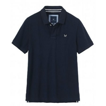 crew clothing navy polo shirt