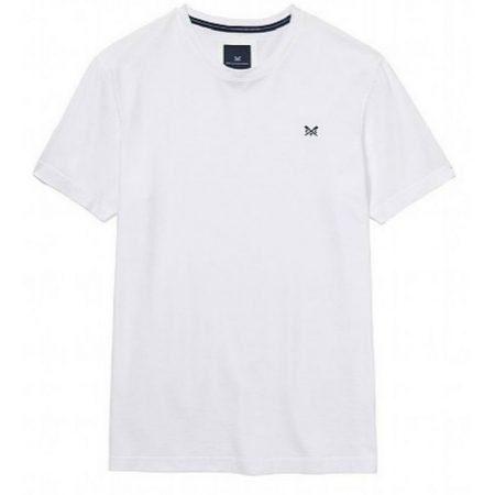 crew clothing white t shirt