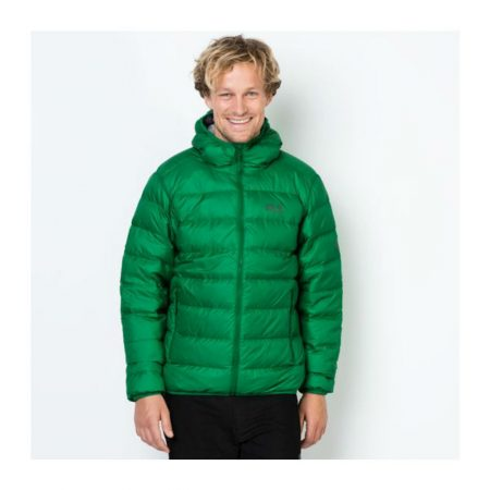 Jack Wolfskin Helium Forest Green Down Jacket