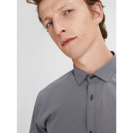 Jack Jones Premium Slim Fit Dark Navy Shirt