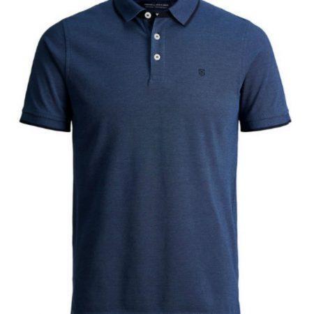 Jack Jones Premium True Blue Polo Shirt