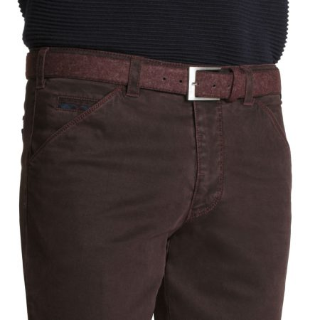 Meyer Cotton Stretch Trouser - Chicago