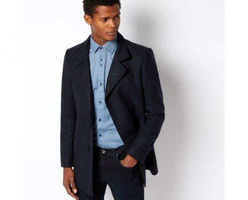 Remus Uomo Blue Lohmann Tailored Coat