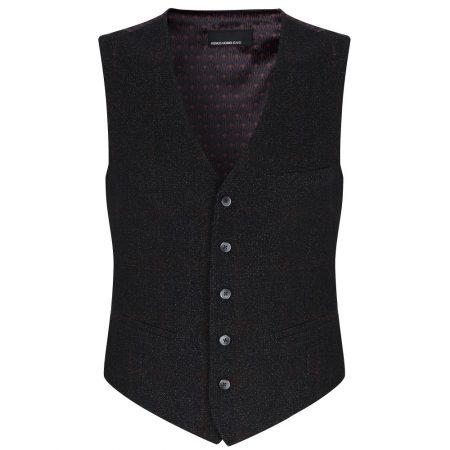 Remus Uomo Dark Grey Waistcoat