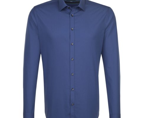 Seidensticker Blue Tailored Fit Shirt