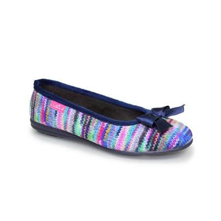 Lunar Twizzle Multi Colour Full Slippers