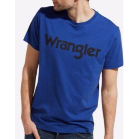 Wrangler Logo T shirt Sodalite Blue