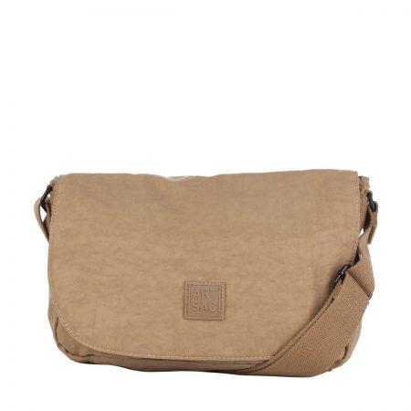 Artsac Beige Showerproof Shoulder Bag
