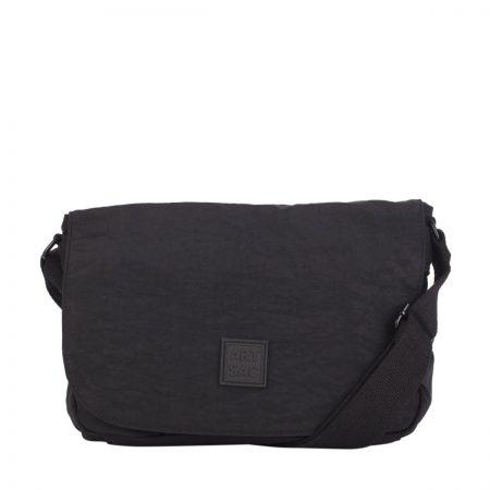 Artsac Black Showerproof Shoulder Bag