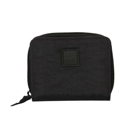 Artsac Black Print Showerproof Purse