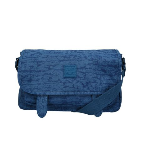 Artsac Blue Print Showerproof Shoulder Bag