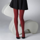 Gipsy Red 100 Denier Opaque Tights