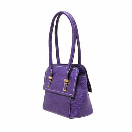 Envy Purple Mid Sized Shoulder Bag