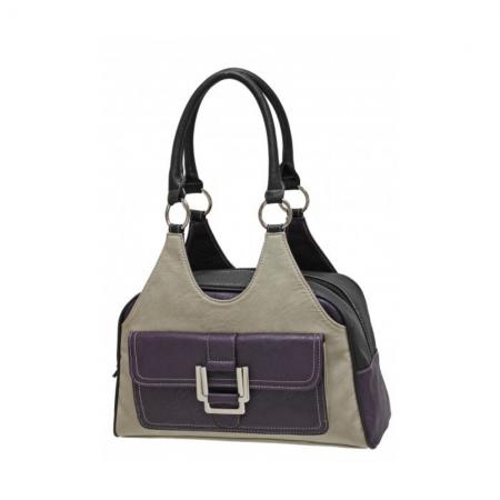 Envy Bella Purple Multi Shoulder Bag