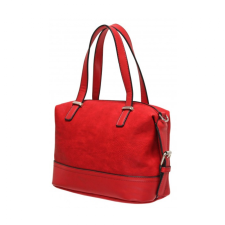 Envy Red Small Classic Handbag
