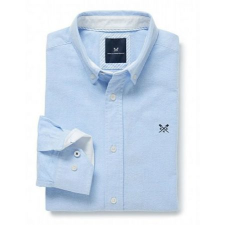 Crew Clothing Oxford Sky Blue Shirt