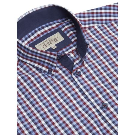 Drifter Short Sleeve Multi Colour Check Shirt