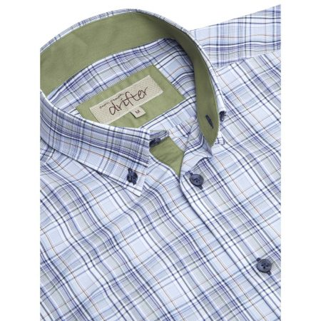 Drifter Short Sleeve Multi Colour Checked Shirt