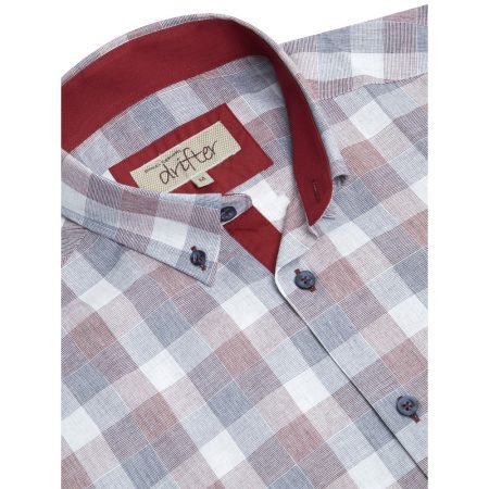 Drifter Muted Check Short Sleeve Shirt