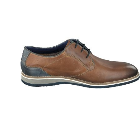 Bugatti Cognac Brogue Smart Shoe